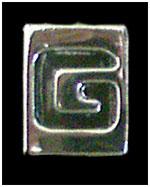 Huruf G Box ukuran 8mm